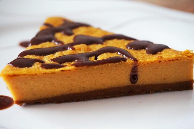 dýňový sladký dezert