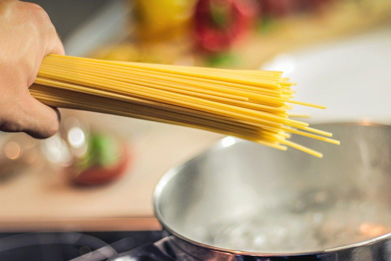 vaření špaget