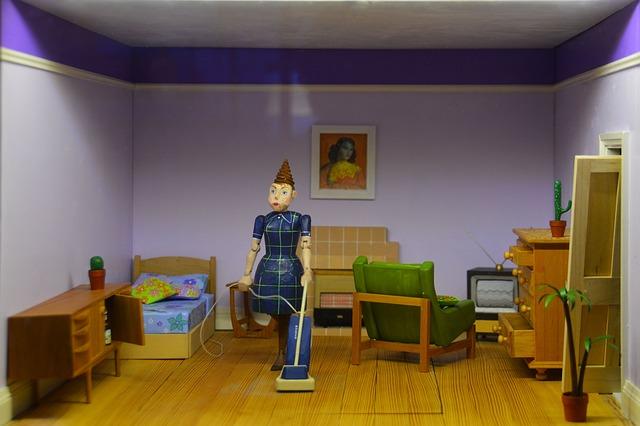 figurka v bytě